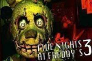 Jogo Five nights at freddy's 3 Gratuito Livre