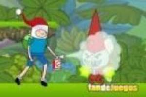 Adventure time, a guerra no natal