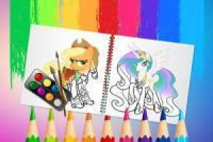 Sweet Pony: Álbum para Colorir
