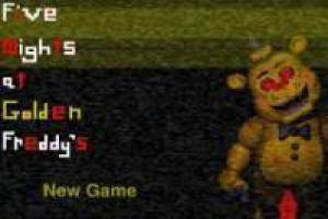 Jogo Five nights at freddys: golden Freddy Livre
